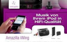 Amazilla iWing advertentie