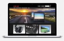 Nieuw webdesign voor de AKAI webshop