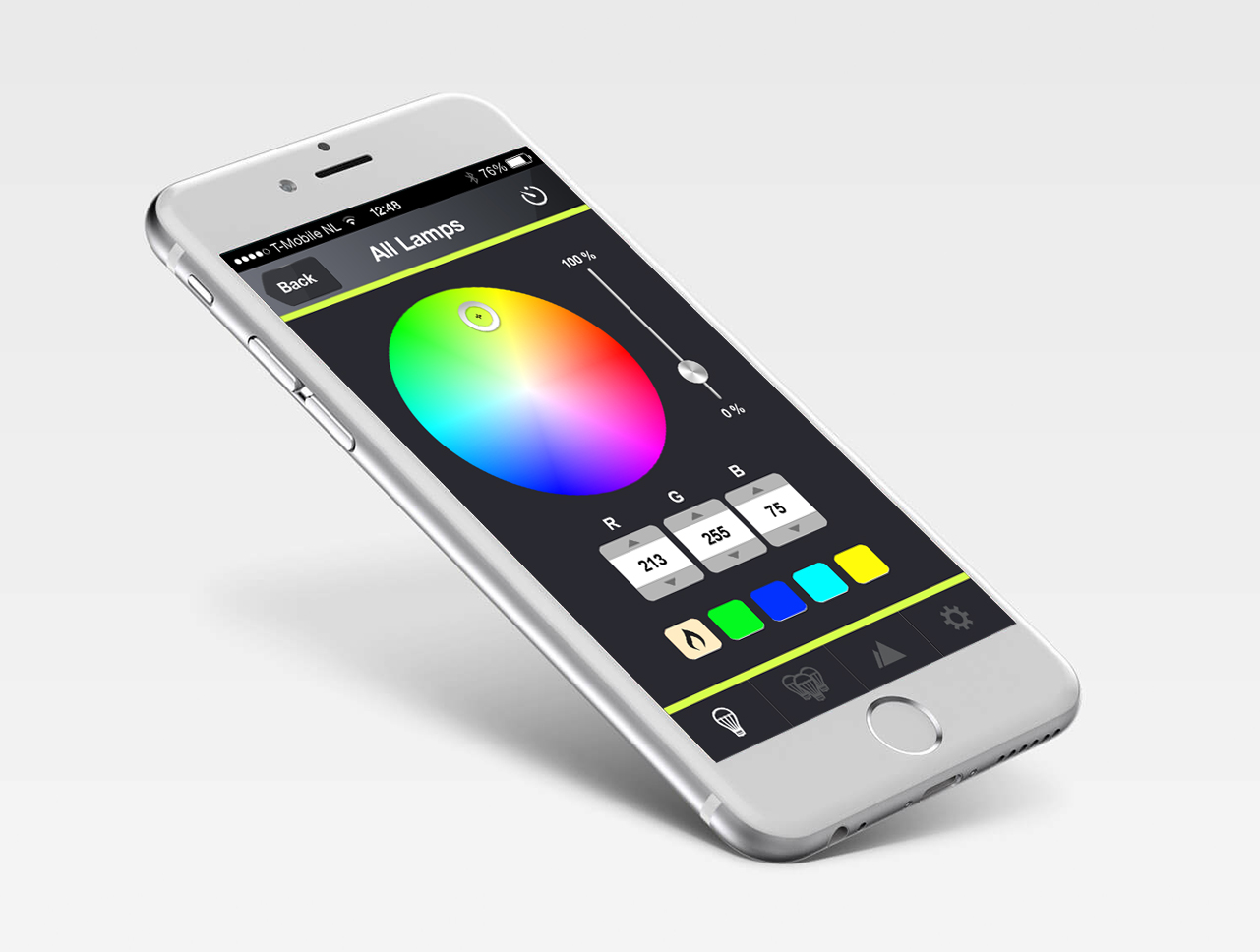 UX Design voor Luxxus Smart Lighting